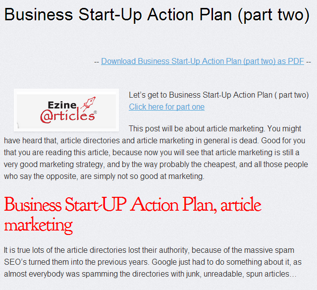 For More Info About Profitable Action Plan When You Start A