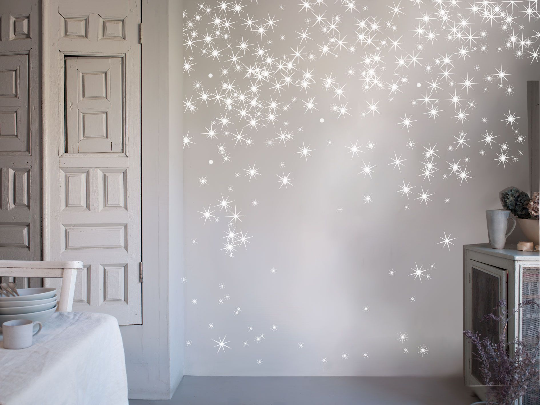 Star Wall Decor Ideas: Beautiful Star Decals That Aren't The Typical Star Shape