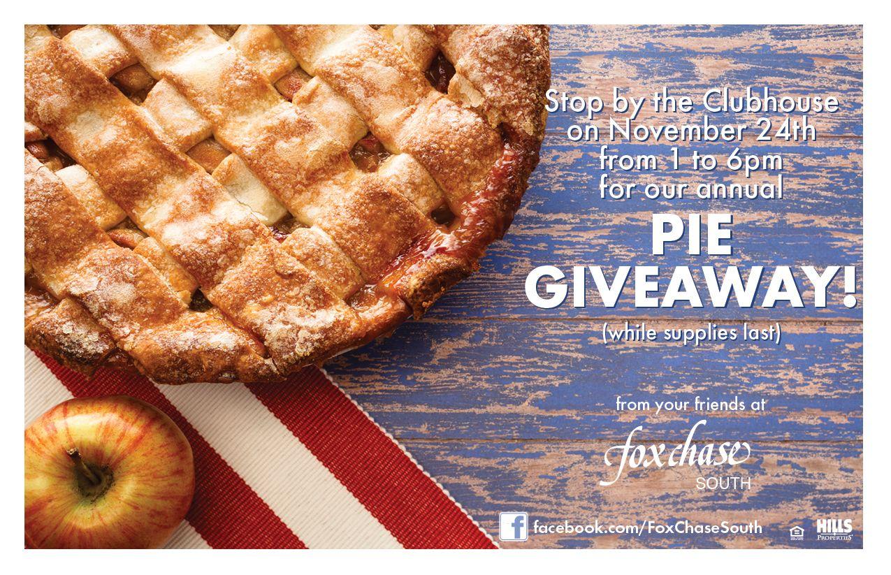 Pie Giveaway! Food, Event, Breakfast