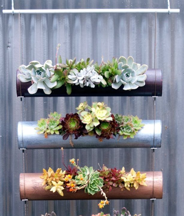 20 Creative Diy Vertical Gardens For Your Home: 20 Ideas Para Jardines Verticales Y Colgantes!