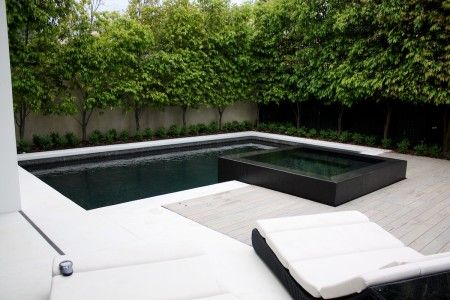 Pool designed and installed by Minke Pools.