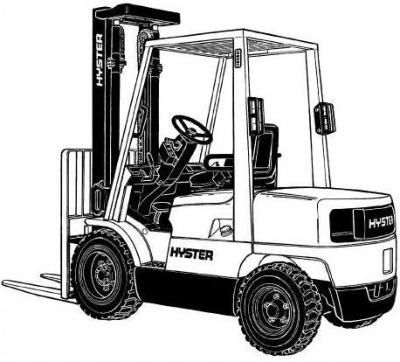 a22f1ef4a8cbee6126277cfd952cb9d9 hyster forklift truck h177 series h2 00xm, h2 50xm, h3 00xm, h3 Hyster Fork Trucks Repair Manuals at edmiracle.co