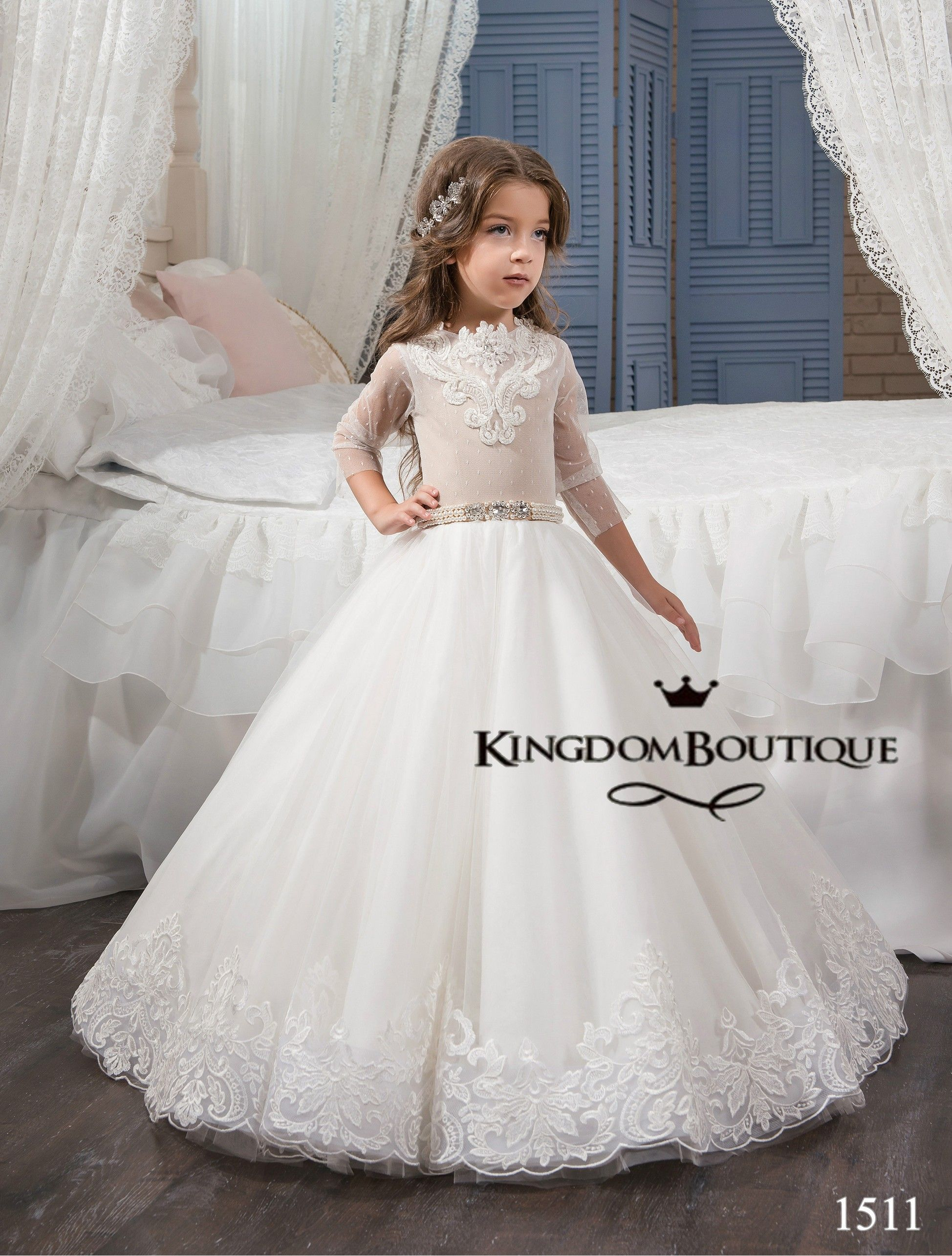Cappuccino Kingdom Boutique children's gowns for special events ...