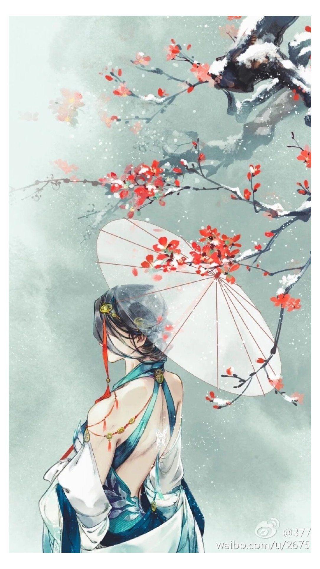 japanese art girl