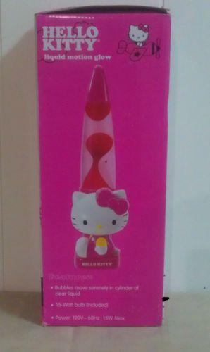 Hello Kitty by Sanrio Pink Liquid Motion Glow Lamp