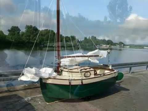 How to build a sailing boat (building weekender) _chast 2 - YouTube ...