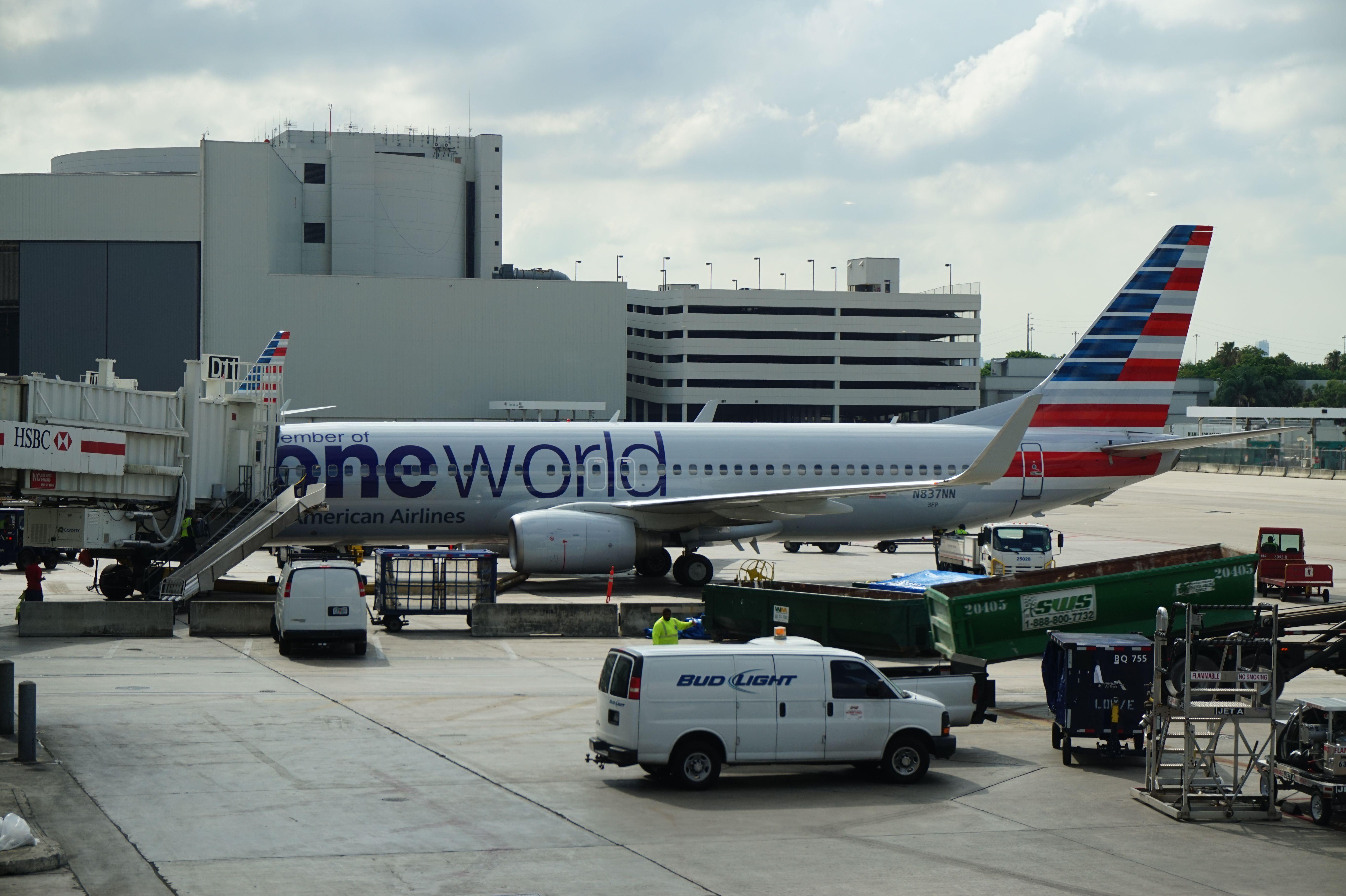 American Airlines at Miami International Airport Aeroporto