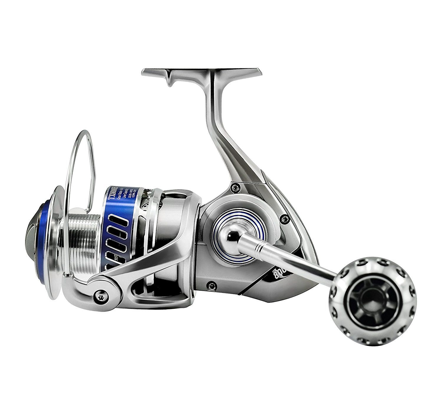2af48caad26 Amazon.com : GOMEXUS Saltwater Fishing Reel Spinning Comparable to Daiwa  Saltiga : Sports & Outdoors