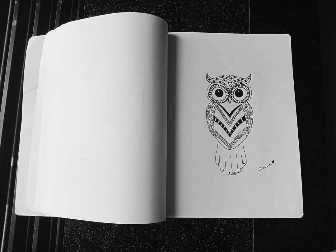 Doodling on birds is fun🦉 Also tried free hand after a long time🙃 . . . #art #inkwork #inks #arty #creativeart #sketsapensil #iloveart #black #blvart #inkaddict #drawings #sketching #artistic #artgallery #graphic #tattooed #draw #artwork #instaart #artist #stetch #creativity #tats #blackwork #arts_help #worldofartists #artsanity #ink #instaartist #pencil