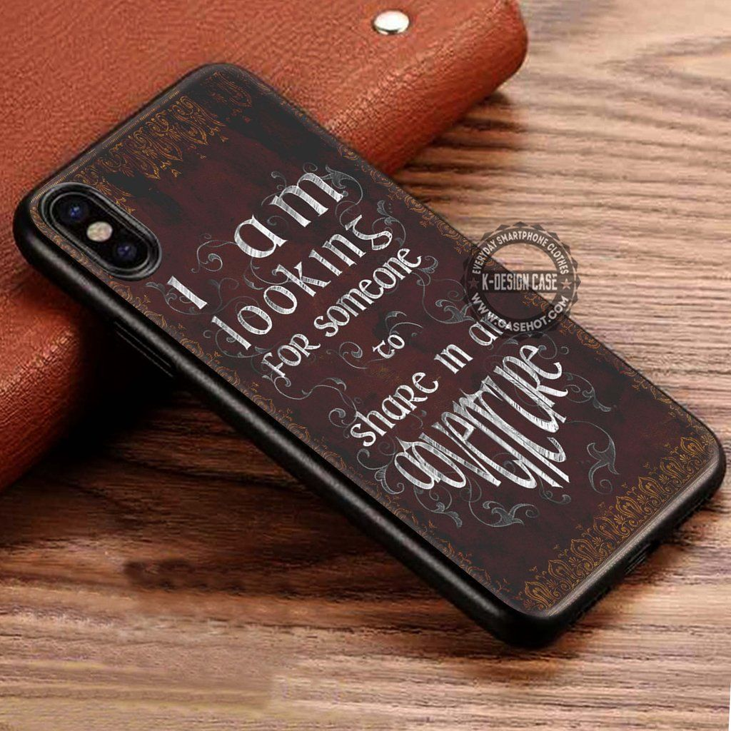The Lord of the Rings Quote Adventure Vintage iPhone X 8 7 Plus 6s ...