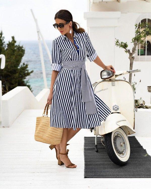 Самые красивые платья-рубашки 2020-2021 года: модные ...