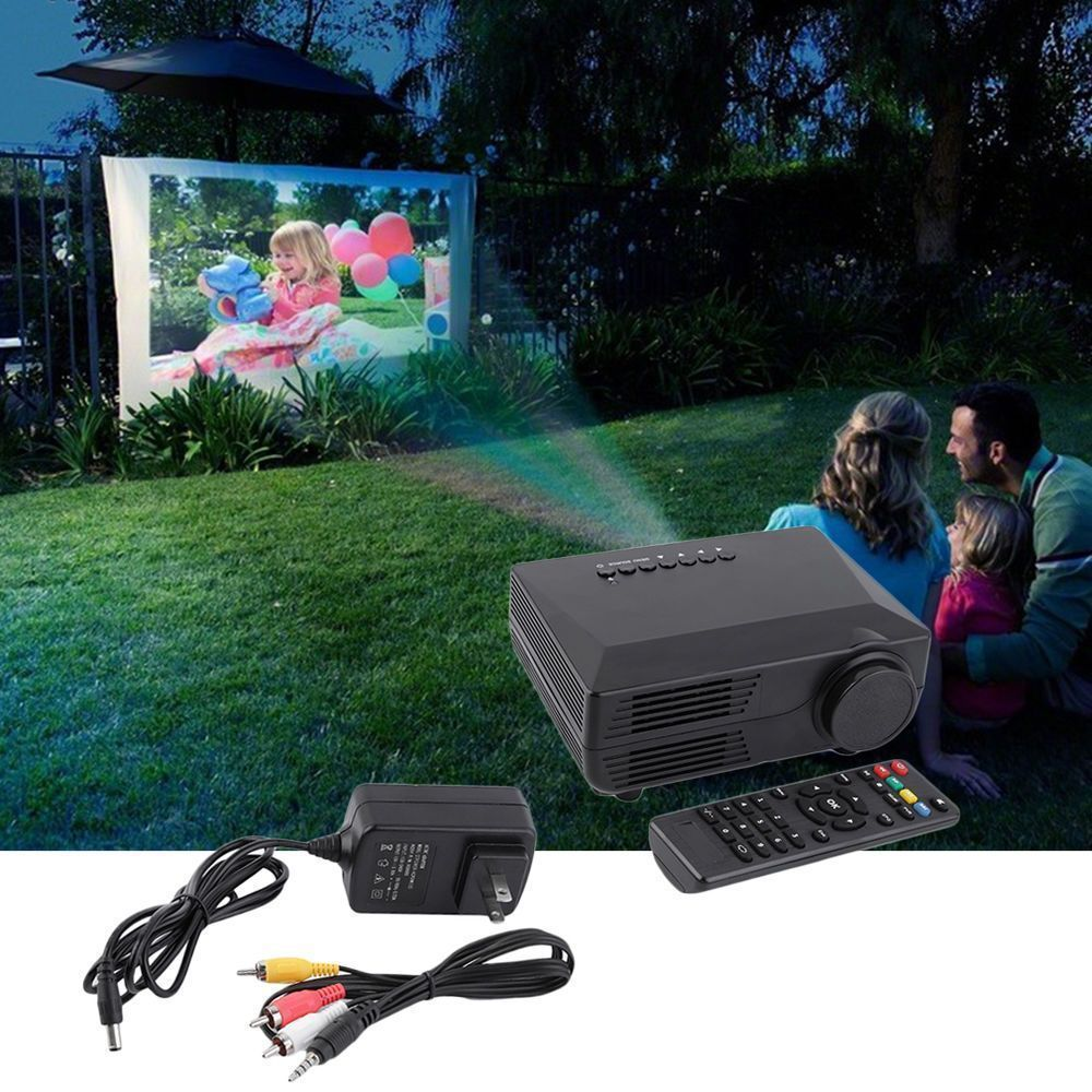 2000 Lumens HD LCD/LED Projector Multimedia Home Theater