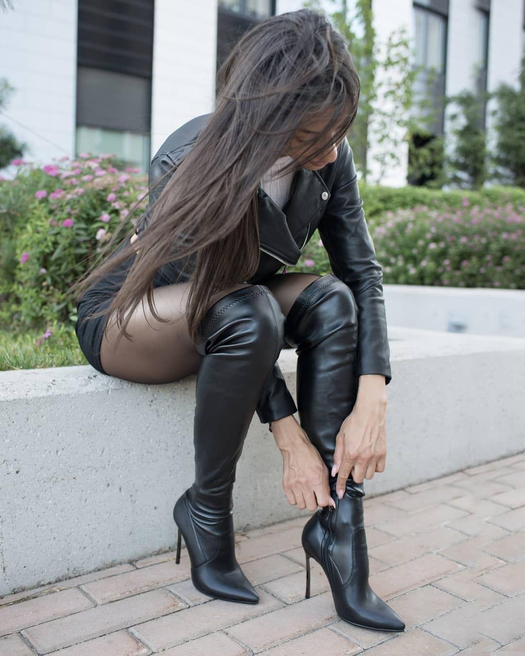 Pin di Emanuele Perotti su Leather Boots   Stivali alti