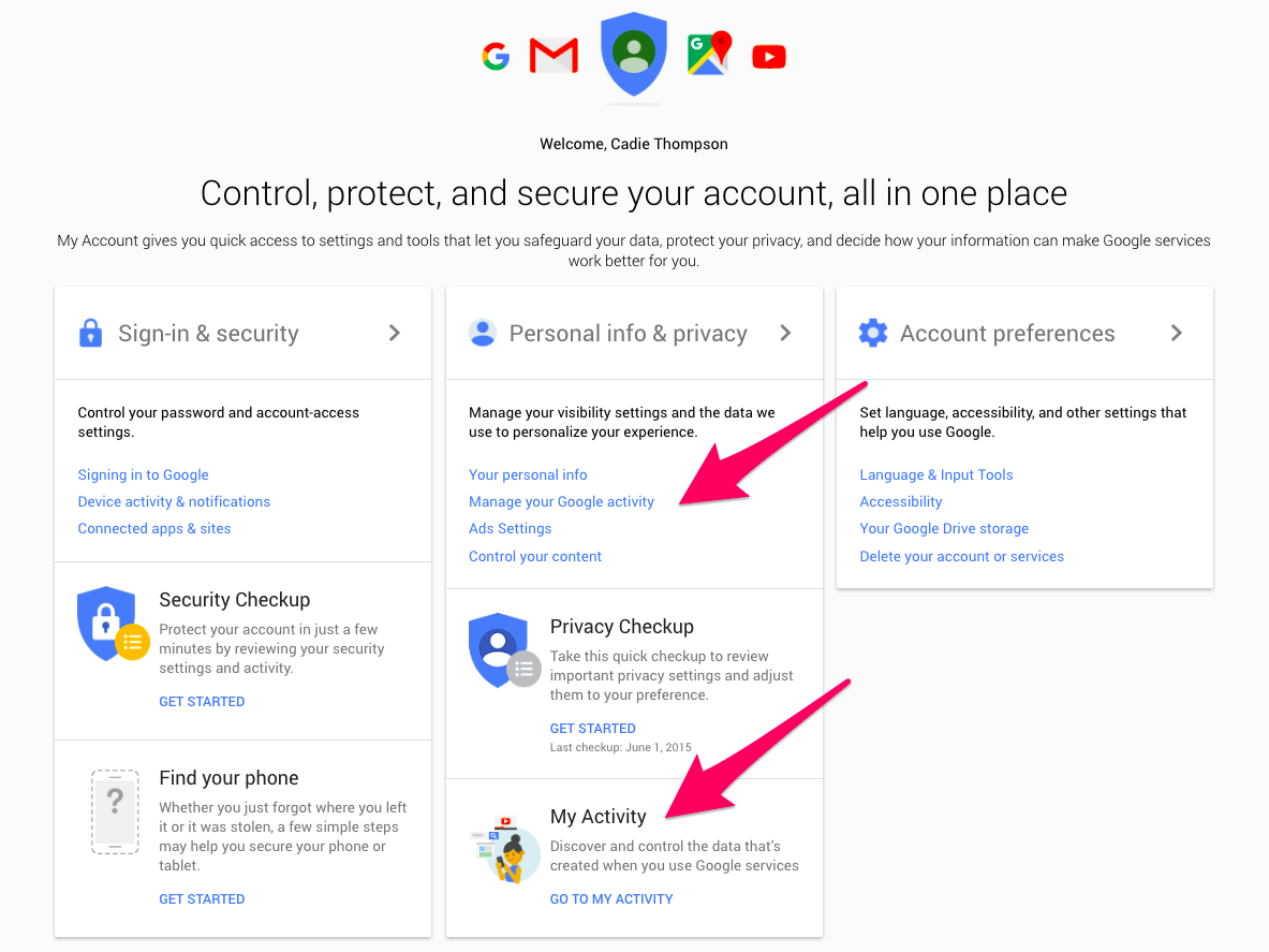 How To See Everything Google Knows About You Google Everything Google Privacy