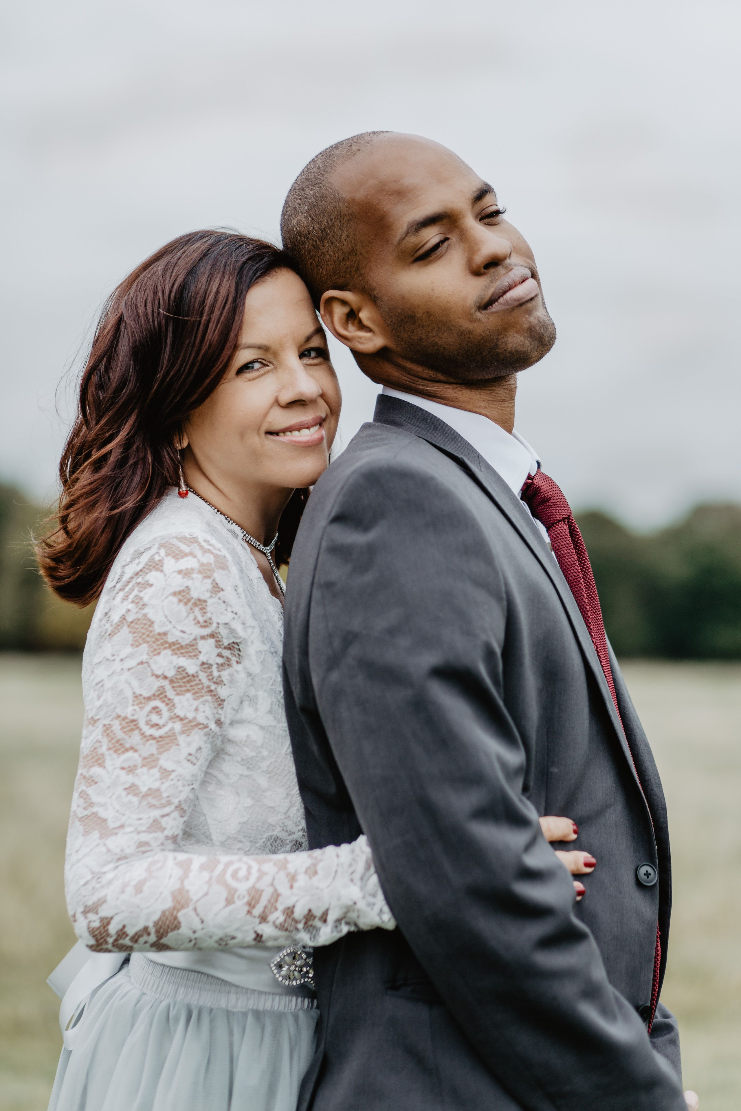 Best wedding dress boutiques in london  Beautiful outdoors elopement in Richmond London England Loved the