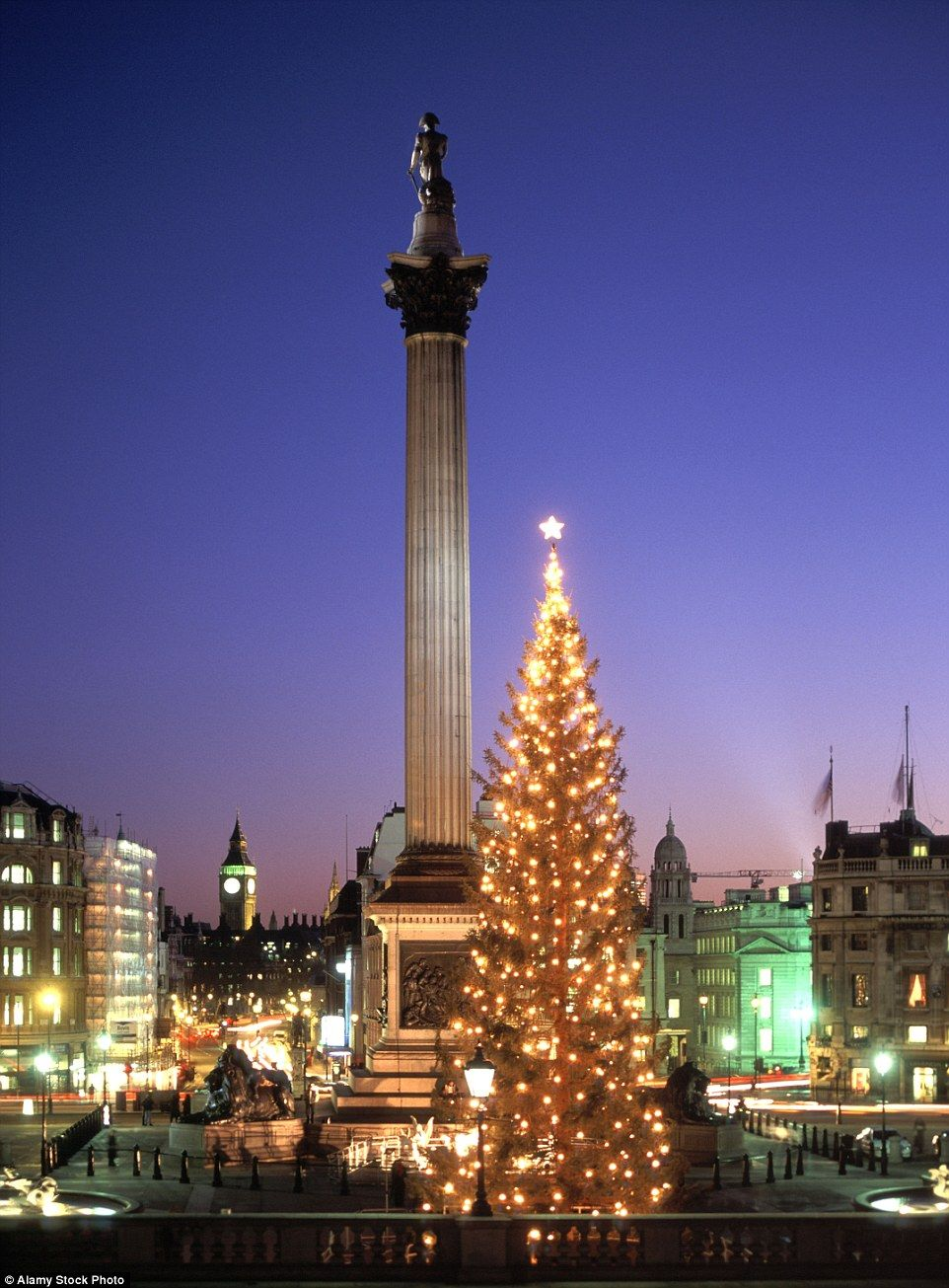Londons Christmas Tree In Trafalgar Square Is Donated Each Year By Which Country.Trafalgar Square S Stunning Traditional Norwegian Christmas