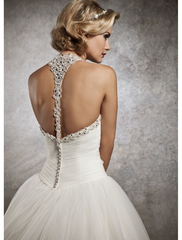 Как сшить свадебное платье с открытой спиной (с ...