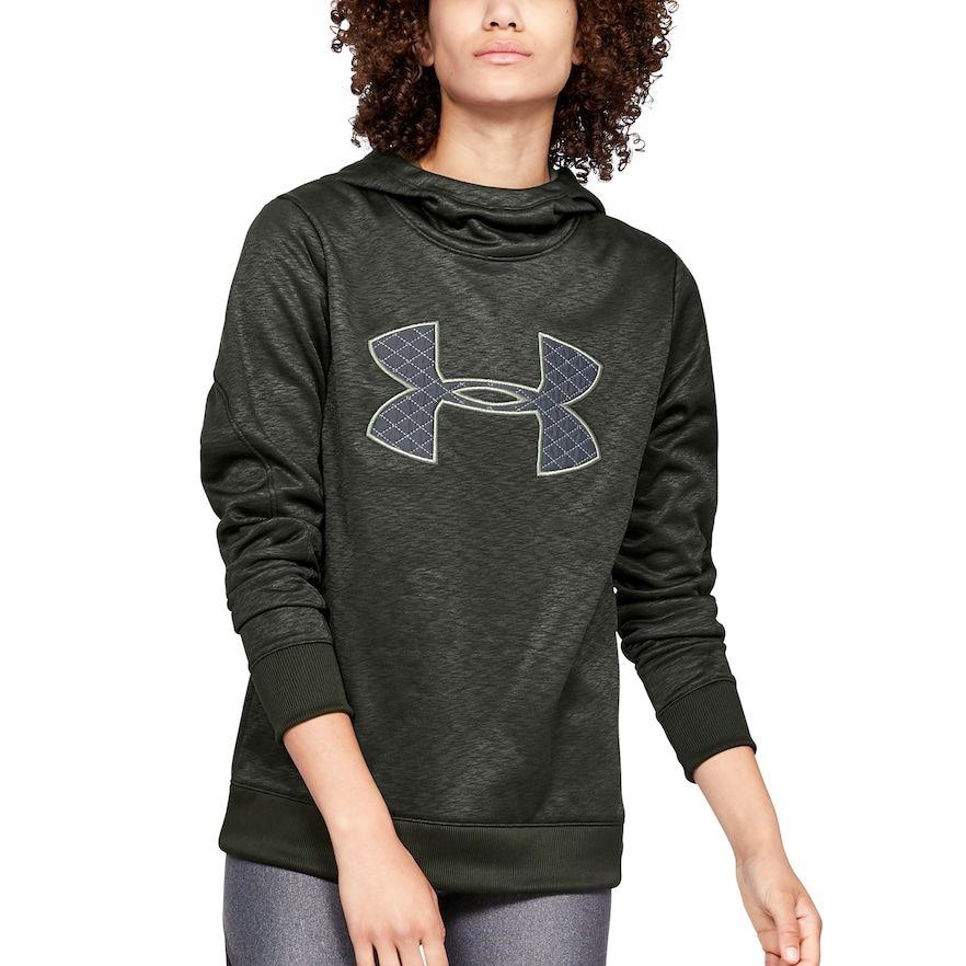New Women/'s Under Armour Sweatshirt Hoodie Fleece Pullover Grey XS-XL