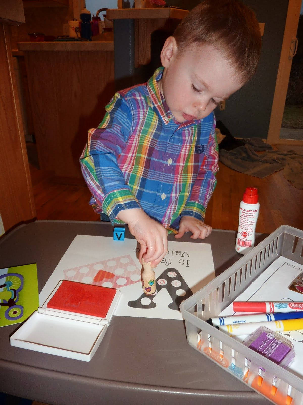 Life With A Toddler Tot School V Is For Valentine