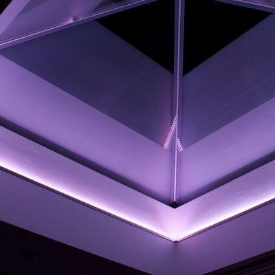 Led Strip Around Upstand To Roof Lantern Roof Lantern Skylight Glass Roof Light