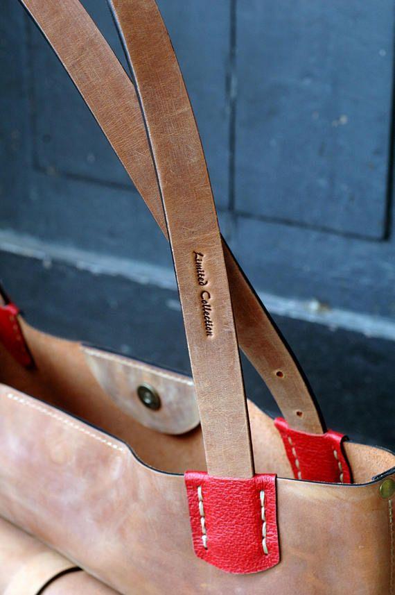 Leder-Tasche GINGER handgefertigte Ledertasche Vintage Hobo-Stil Zuza 2 Kollektion von Ladybuq Leder-Tasche Laptoptasche Übergröße Tasche   – Proyecto cuero