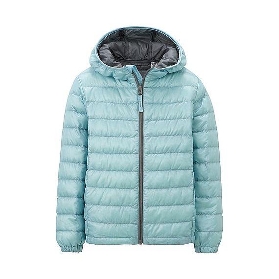 1b7b079a9 UNIQLO Kids Light Poly Fill Down Parka Jacket - Blue