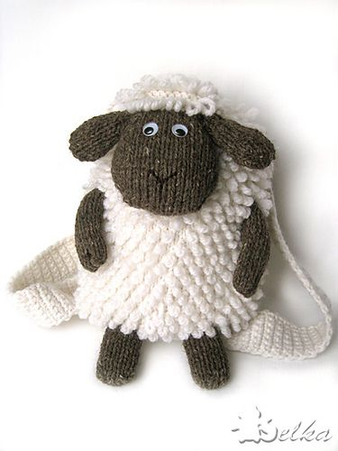 Free Pattern Sheep Backpack Laukut Pinterest Free Pattern