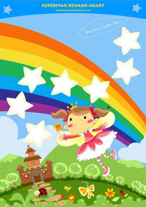 Superstar Reward Chart Greeting Card for Sale by Rachel Fairy - free reward chart templates