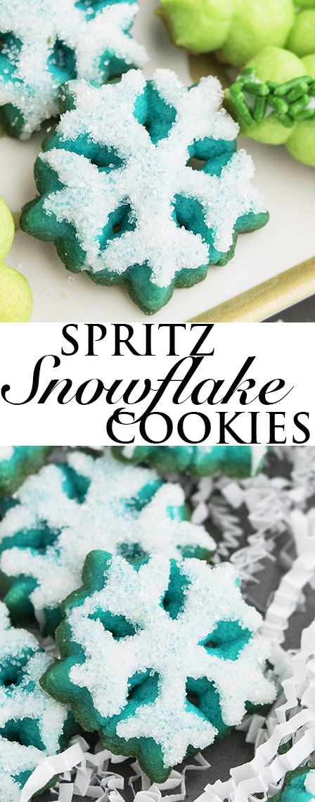This rich and buttery CLASSIC SPRITZ COOKIES recipe is easy to make with a few simple ingredients. These old fashioned Spritz cookies are crispy and tender. They are also great as a homemade gift during the Christmas holiday season. {Ad} From cakewhiz.com