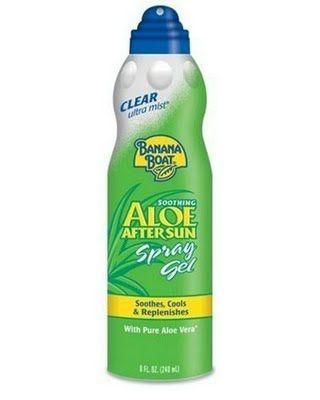Lazy Beach Days Spray Gels After Sun Spray Pure Aloe Vera