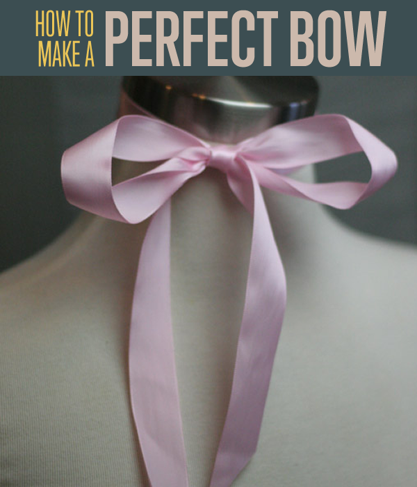 How to tie a bow beautiful crafts and videos for Ribbon crafts to make