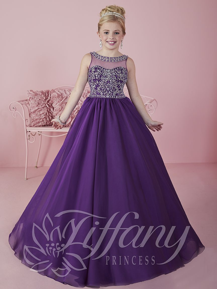 Flower Girl Vestido #13473 Lovely flower girls from tiffany ...
