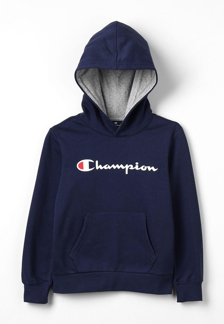 Champion Hooded Hoodie Dark Blue Zalando Be Trendy Hoodies Hoodies Blue Champion Hoodie [ 1100 x 762 Pixel ]