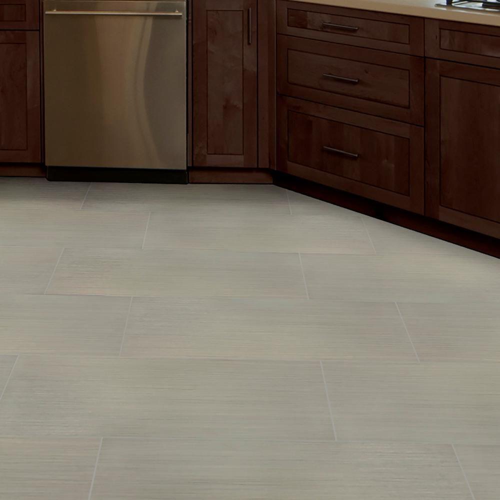 Msi Metro Glacier 12 In X 24 In Matte Porcelain Floor And Wall Tile 16 Sq Ft Case Nhdmetgla1224 The Home Depot In 2020 Porcelain Flooring Flooring Wall Tiles