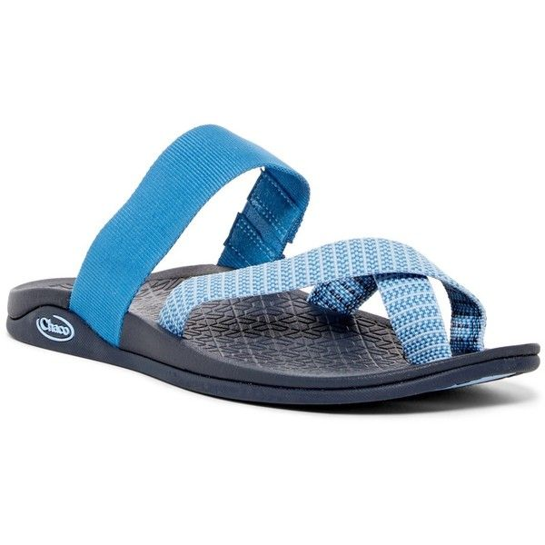ab76806df Chaco Tetra Cloud Slide Sandal (920 ARS) ❤ liked on Polyvore featuring  shoes