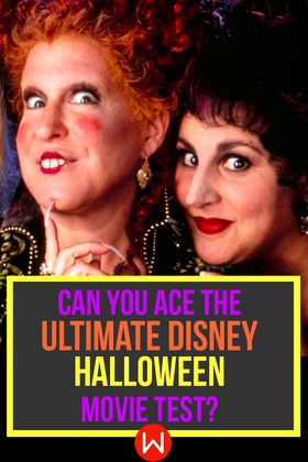 Quiz: Can You Ace The Ultimate Disney Halloween Movie Test ...