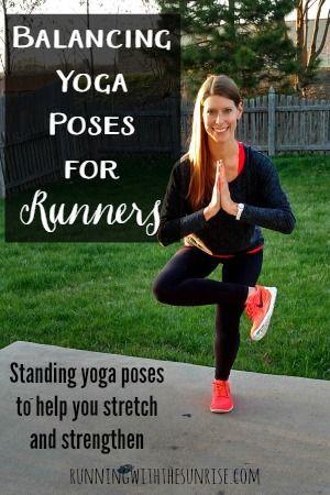balancing yoga poses for runners  yoga for runners
