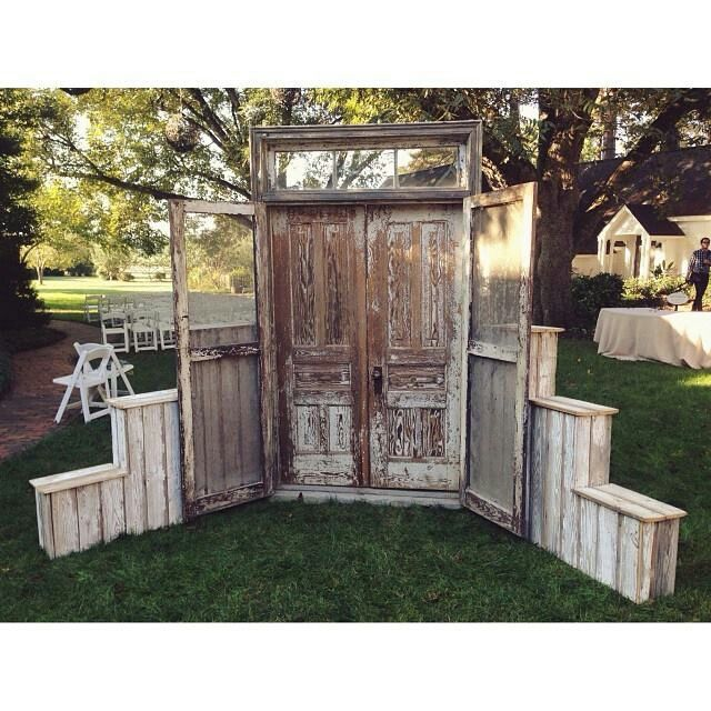 Pallet Wedding Backdrop