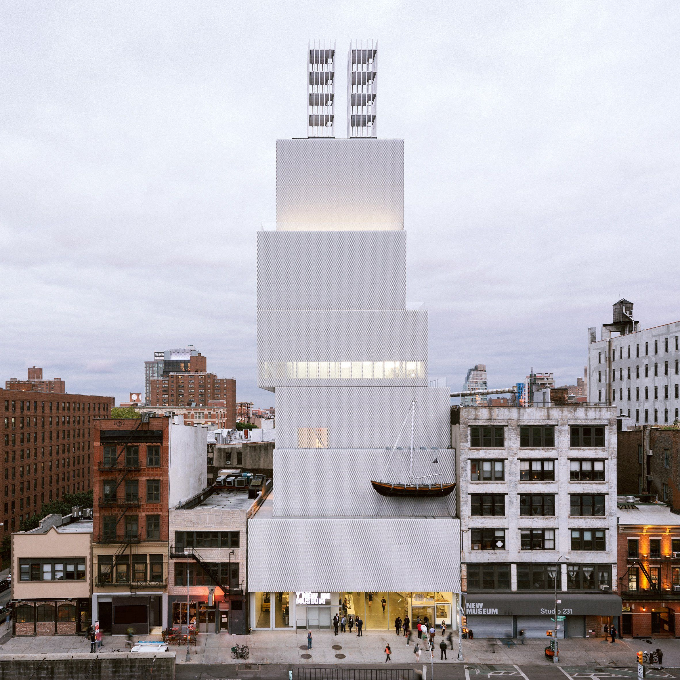 The New York branch of architecture firm OMA will create an