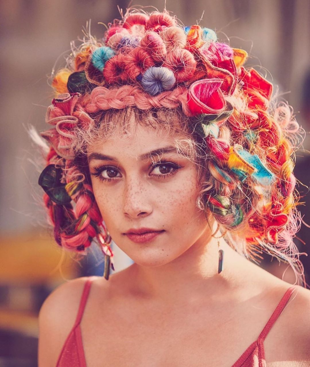 Bohemian Crafted Hair On Instagram Well This Is Beyond Fun Our Stylist Cest Tiffany Created This Crazy Beautiful Look With The H In 2020 Stylists Hair Beautiful