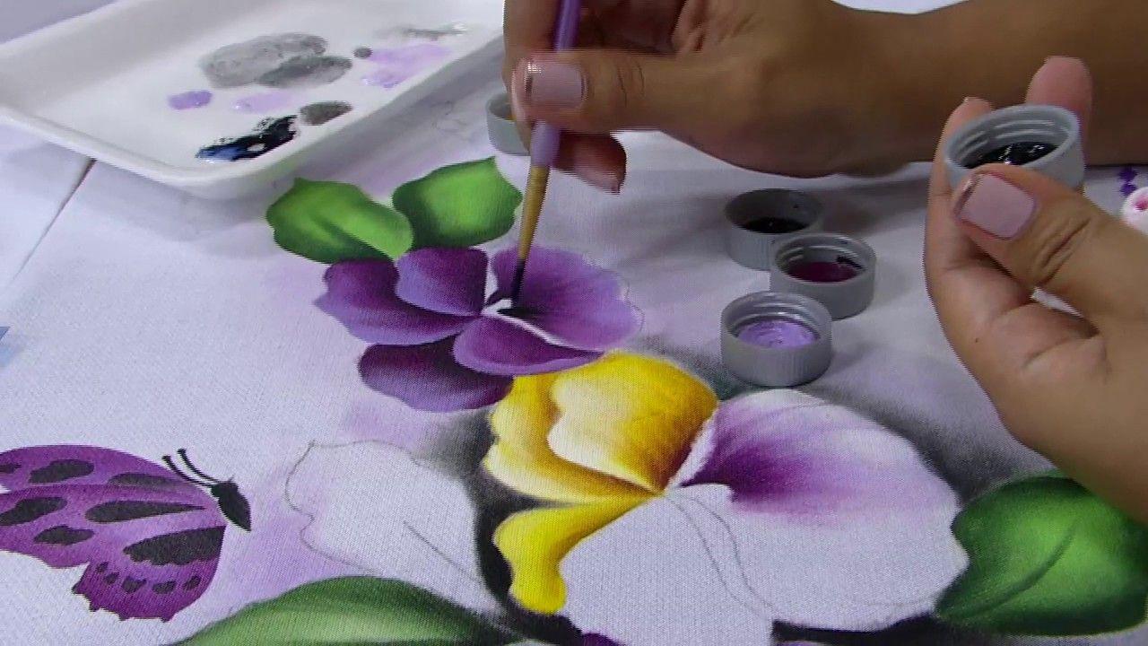 Mulher.com - 10/12/2016 - Pintura em pano de copa - Ana Laura Rodrigues P2