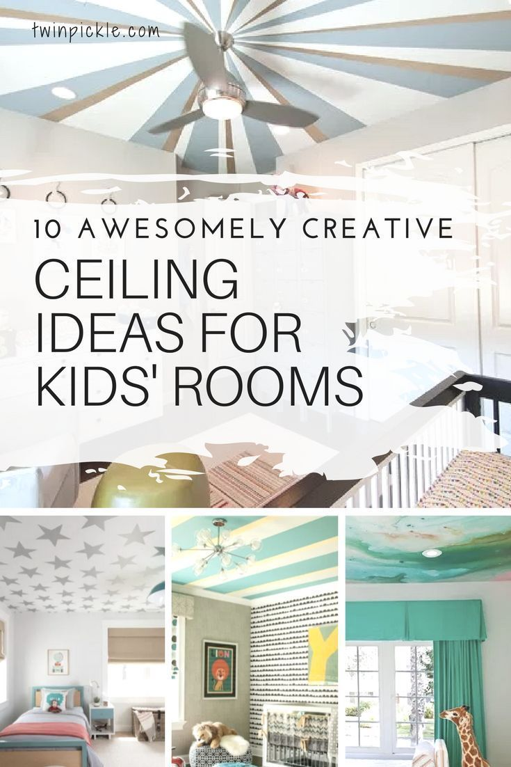 10 Awesomely Creative Ceiling Ideas for Kids' Rooms   Top Blogs ...