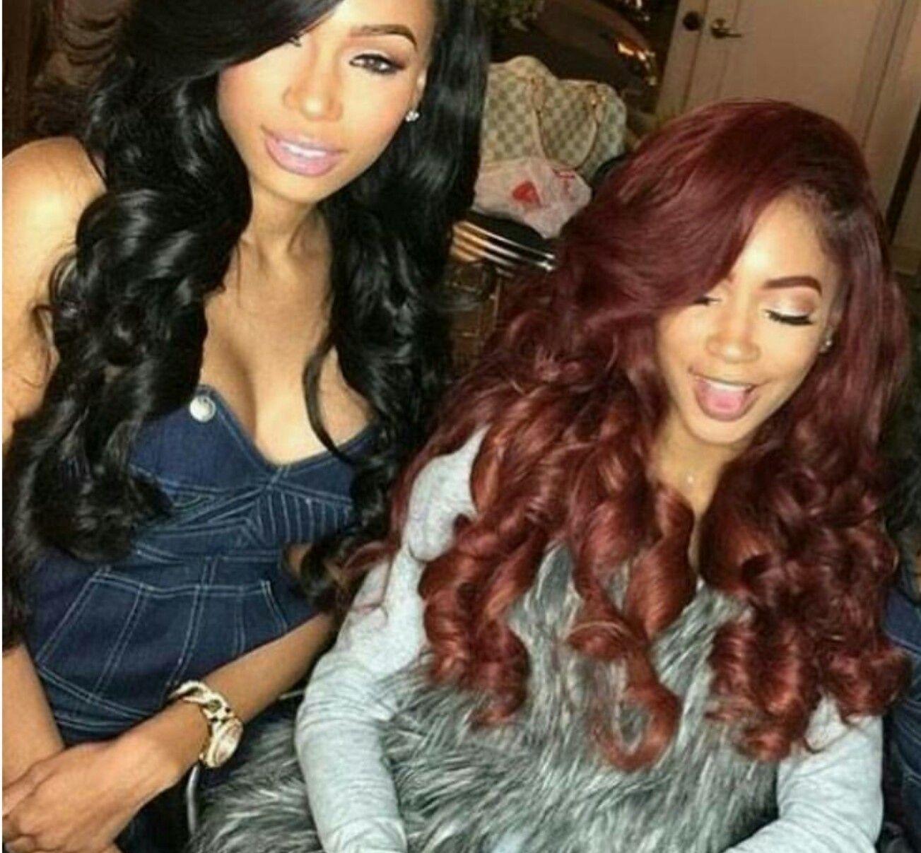 Pin by kira on royalty pinterest black girls hairstyles hair