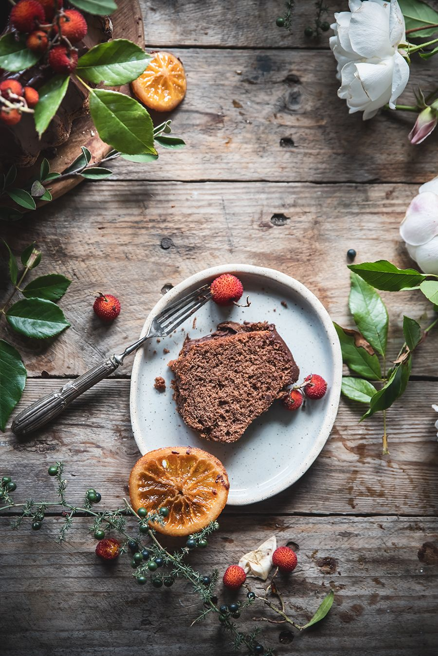 Schokolade und Orange Donut - Eine Schüssel Schokolade Orange Bundt ...