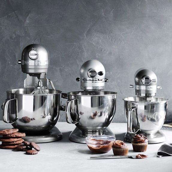 Kitchenaid Artisan Mini Stand Mixer With Flex Edge Beater 3 Qt Williams Sonoma Kitchen Aid Kitchenaid Artisan Kitchen Aid Appliances