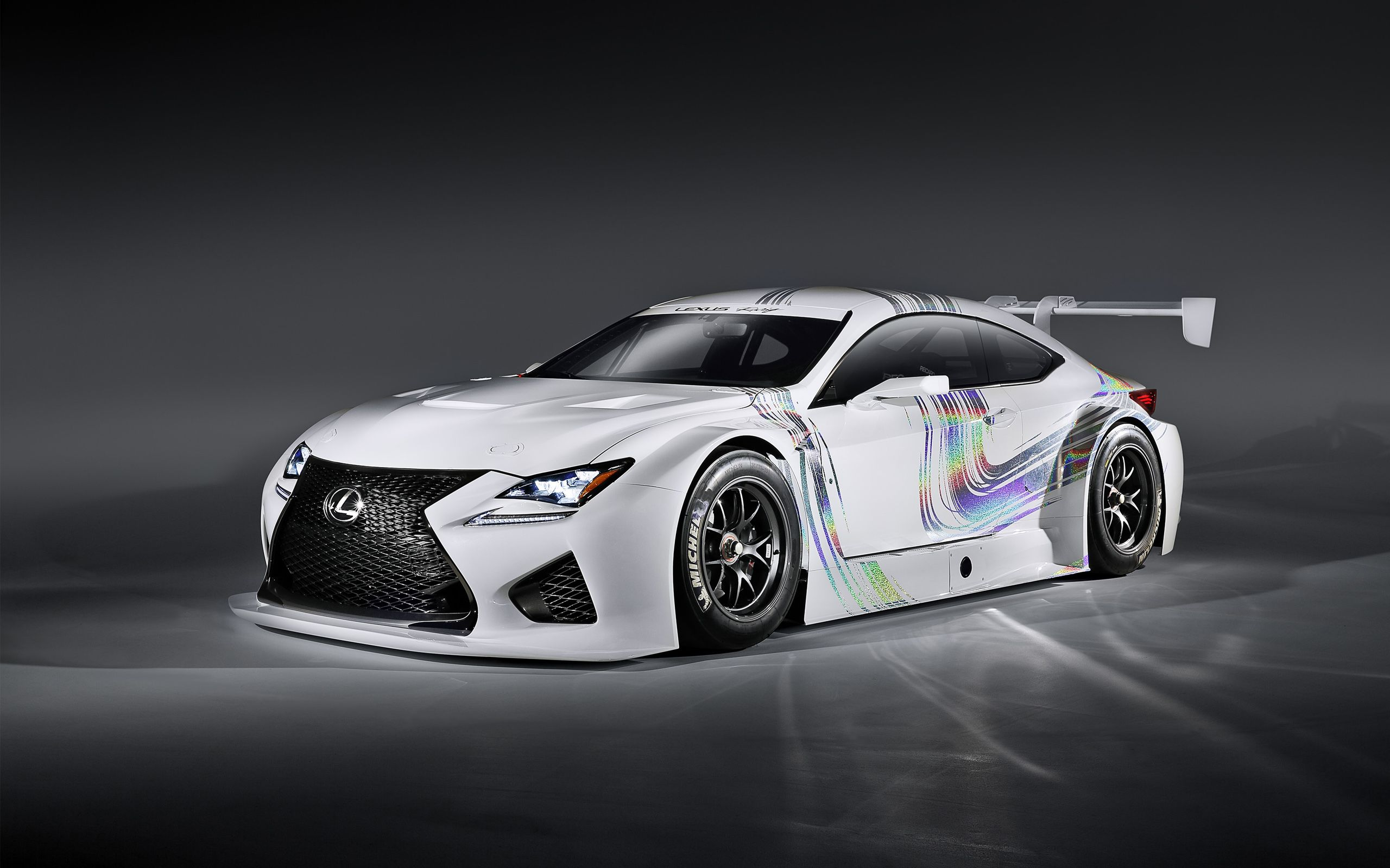 Lexus Rc F Gt Concept Wallpapers Hd Wallpapers