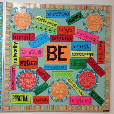 Create your own BE Bulletin Board with my TpT download.:
