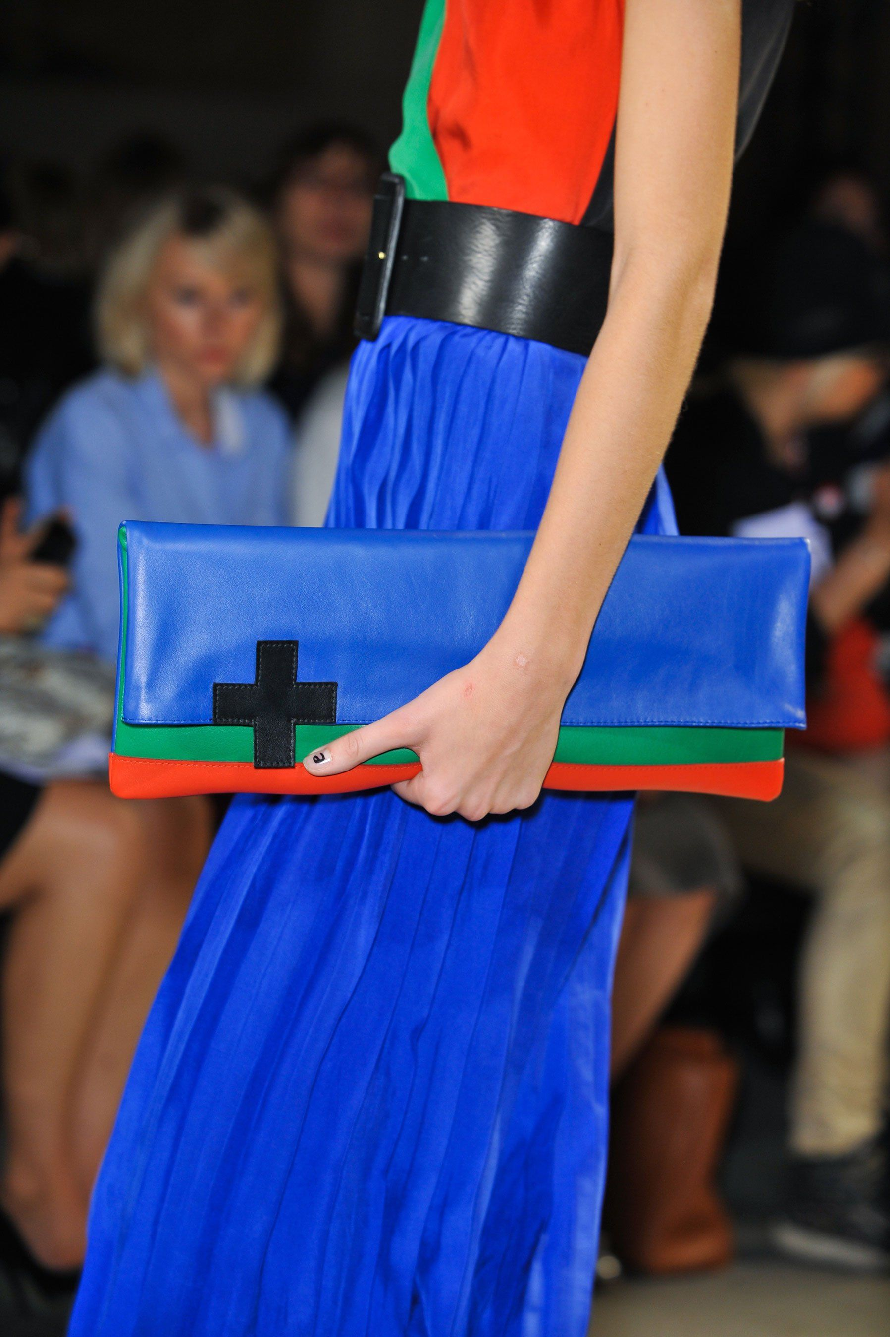 Real color blocking involves colors! Jean Charles De Castelbajac Details S/S '14