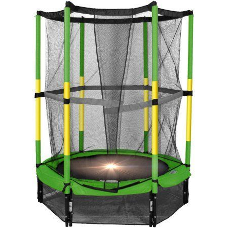 The Bounce Pro 55 inch My First Trampoline, Green