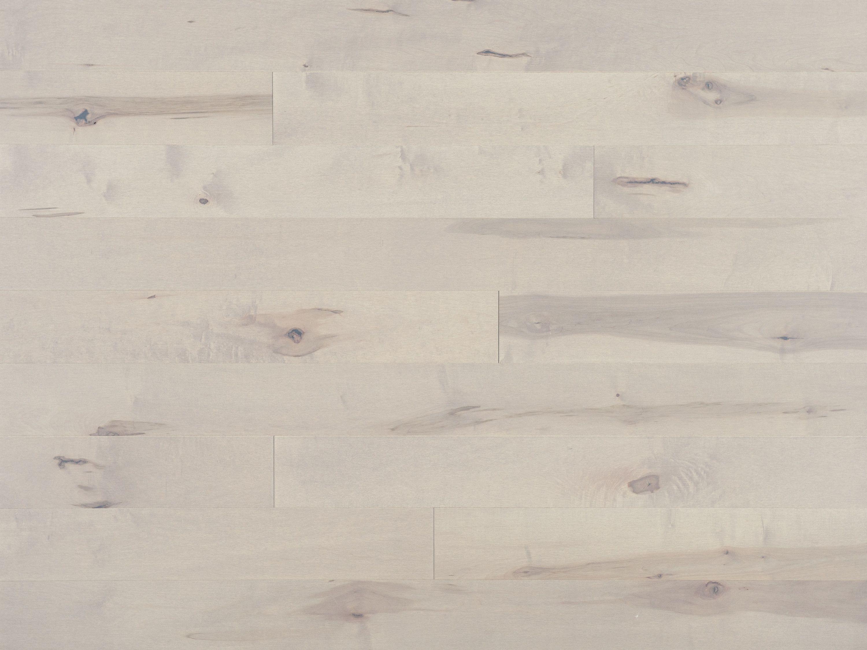 Flair, Érable Snowdrift Caractère Prononcé - Plancher de bois franc Mirage
